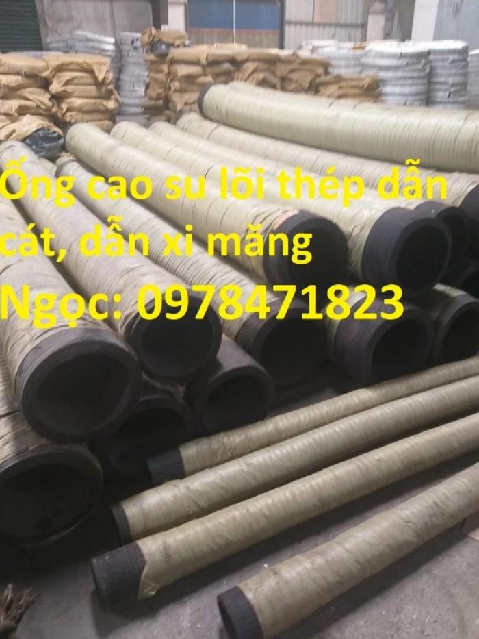 Tổng kho ống cao su lõi thép D90, 100,110,120,150,200 dùng hút cát, dẫn nước.4