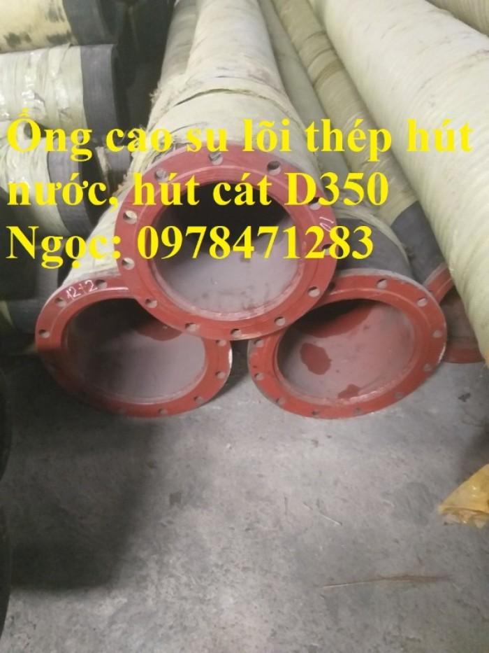 Tổng kho ống cao su lõi thép D90, 100,110,120,150,200 dùng hút cát, dẫn nước.5