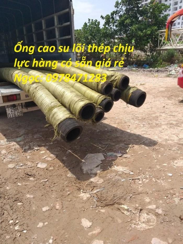 Tổng kho ống cao su lõi thép D90, 100,110,120,150,200 dùng hút cát, dẫn nước.3