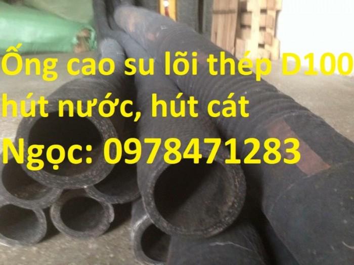 Tổng kho ống cao su lõi thép D90, 100,110,120,150,200 dùng hút cát, dẫn nước.1