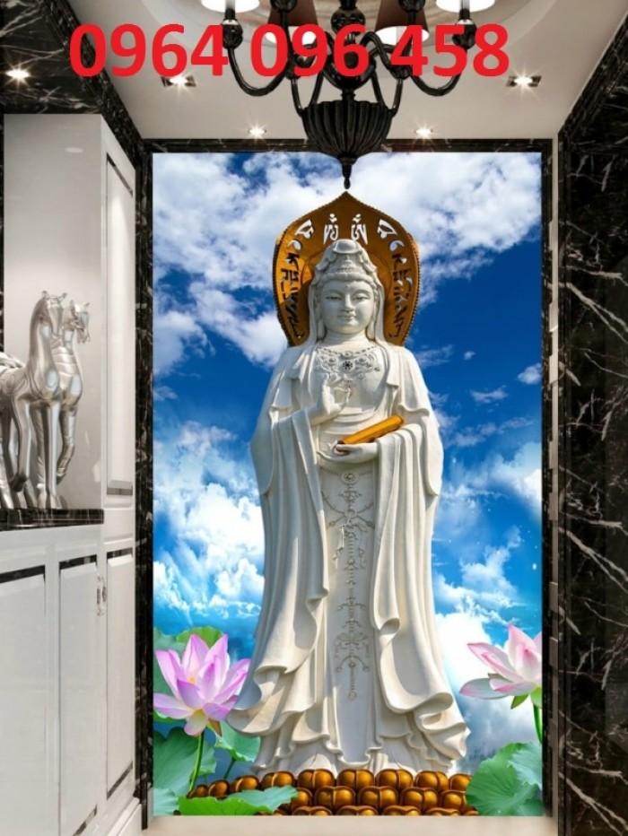 Tranh trang trí phòng thờ - gạch tranh 3d11