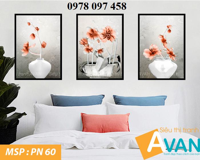 Tranh phòng ngủ cao cấp- tranh gạch 3D0