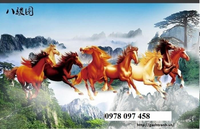 Tranh ngựa - tranh phong thủy
