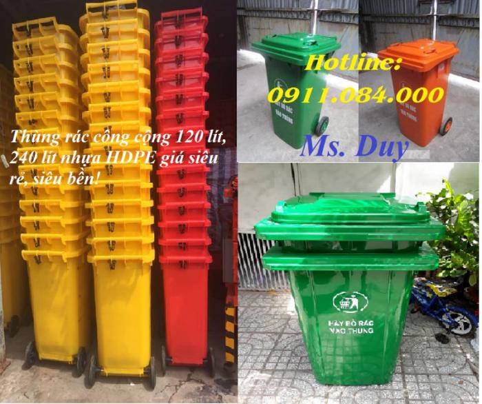 Công ty chuyên cung cấp  thùng rác công cộng  rẻ nhất khu vực Miền Tây2