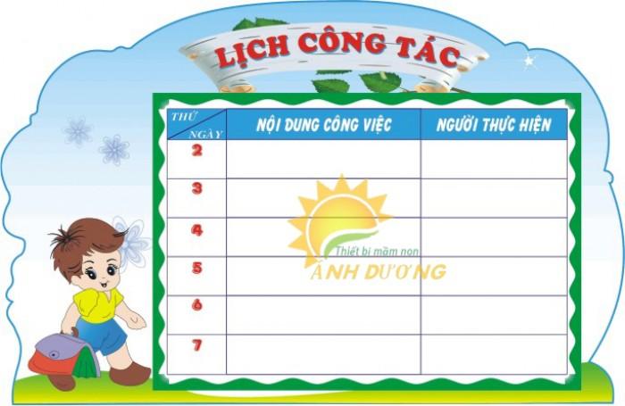Chuyên cung cấp bảng biểu, bảng tuyên truyền cho trường lớp mẫu giáo5