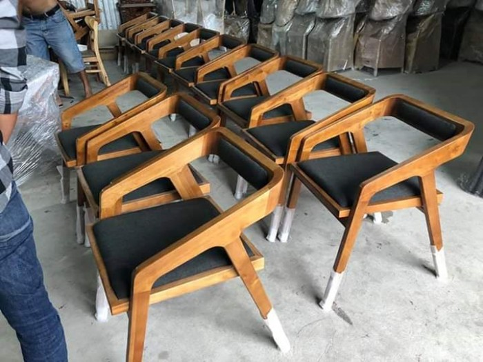 Thanh lý ghế gỗ sừng trâu bao đẹp bền..2