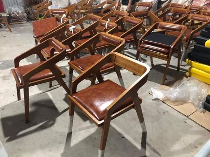 Thanh lý ghế gỗ sừng trâu bao đẹp bền..4