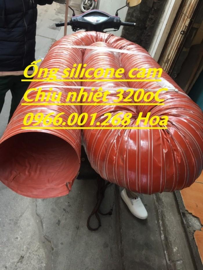 Ống silicone chịu nhiệt,ống thông khí nóng phi 51,phi 63,phi 100,phi 1140
