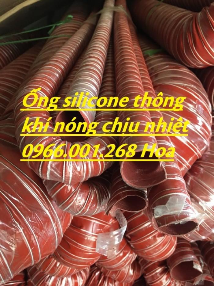 Ống silicone chịu nhiệt,ống thông khí nóng phi 51,phi 63,phi 100,phi 1143