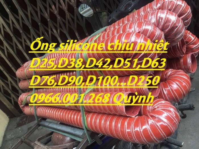 Ống silicone chịu nhiệt,ống thông khí nóng phi 51,phi 63,phi 100,phi 1142