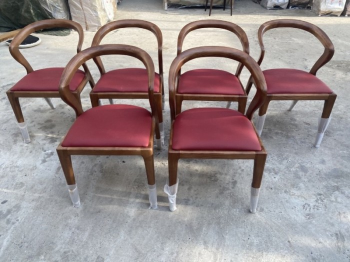Thanh lý ghế gỗ sừng trâu bao đẹp bền..5