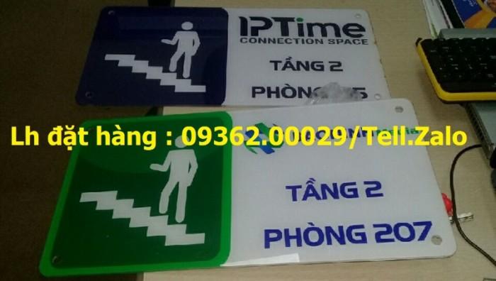 Xưởng chuyên cung cấp biển công ty mica, đồng ,inox tại Hà Nội4
