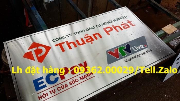 Xưởng chuyên cung cấp biển công ty mica, đồng ,inox tại Hà Nội10