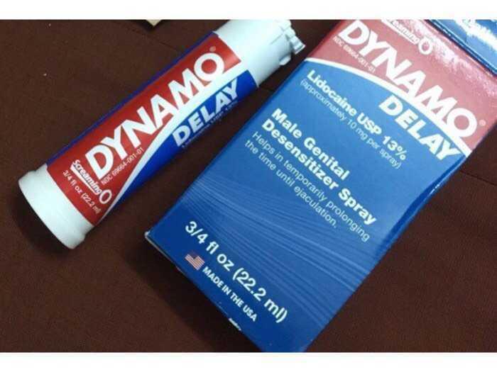 Sịt kéo dài quan hệ , chống xuất tinh sớm DYNAMO DELAY ( Made in USA ) chính hãng0