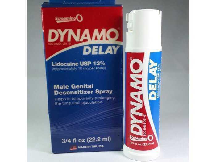 Sịt kéo dài quan hệ , chống xuất tinh sớm DYNAMO DELAY ( Made in USA ) chính hãng3