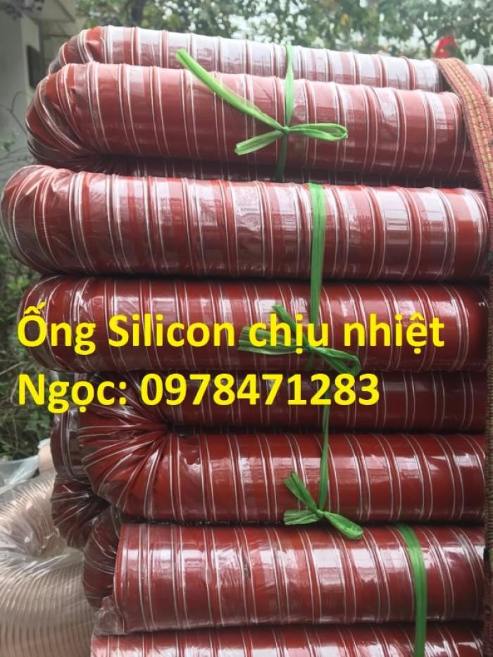 Ống silicon chịu nhiệt d38, d42, d51, d63 chuyên dùng dẫn khói, dẫn khí nóng.1