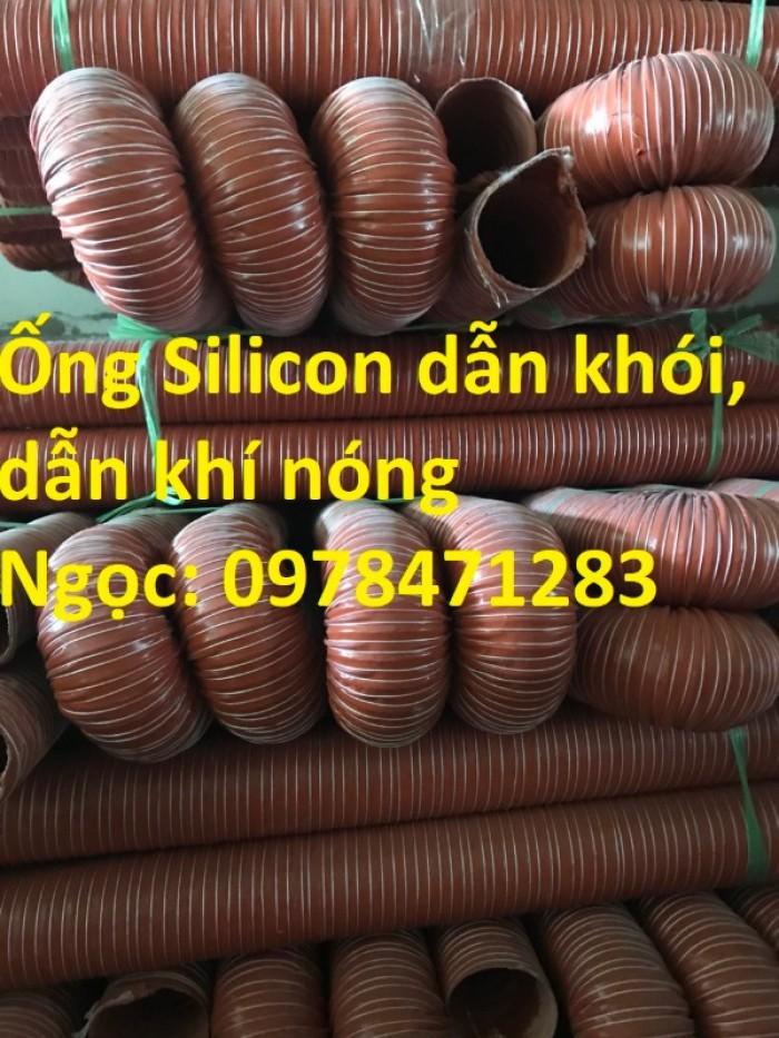 Ống silicon chịu nhiệt d38, d42, d51, d63 chuyên dùng dẫn khói, dẫn khí nóng.0