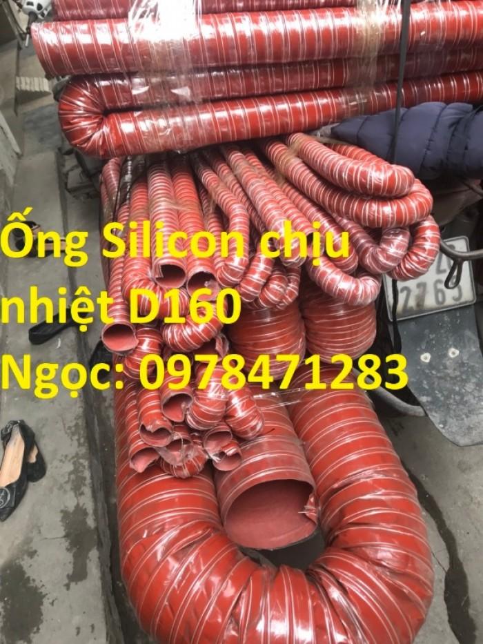 Ống silicon chịu nhiệt d38, d42, d51, d63 chuyên dùng dẫn khói, dẫn khí nóng.4