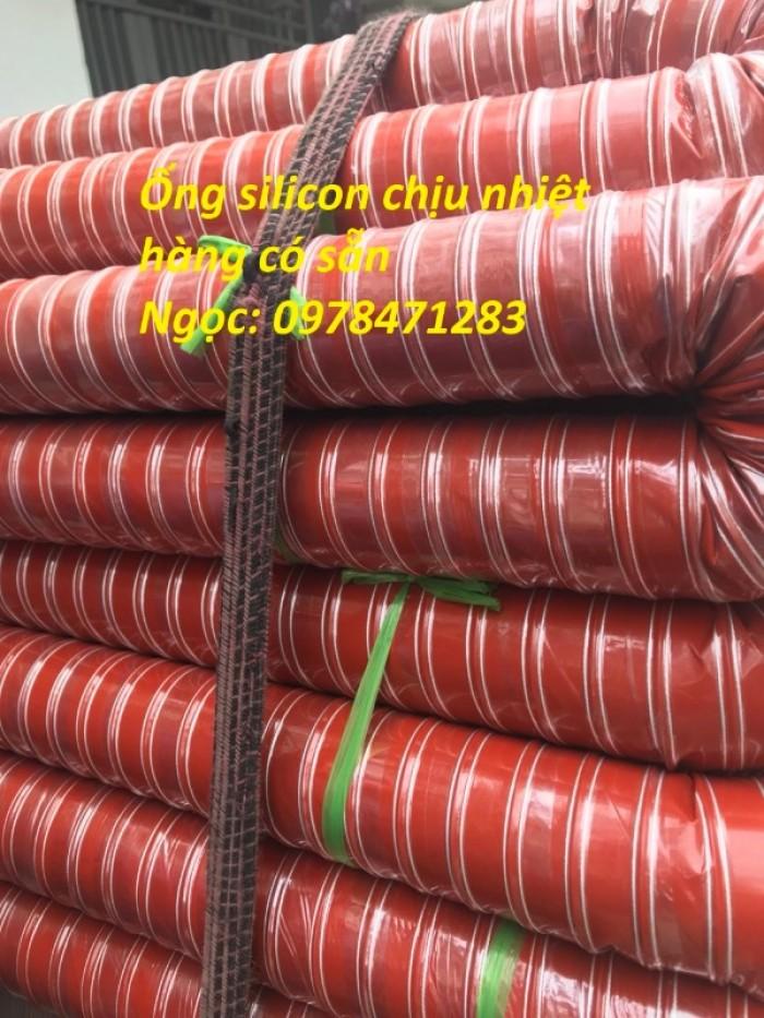 Ống silicon chịu nhiệt d38, d42, d51, d63 chuyên dùng dẫn khói, dẫn khí nóng.2