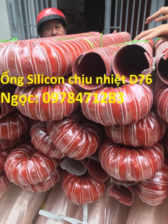 Ống silicon chịu nhiệt d38, d42, d51, d63 chuyên dùng dẫn khói, dẫn khí nóng.6