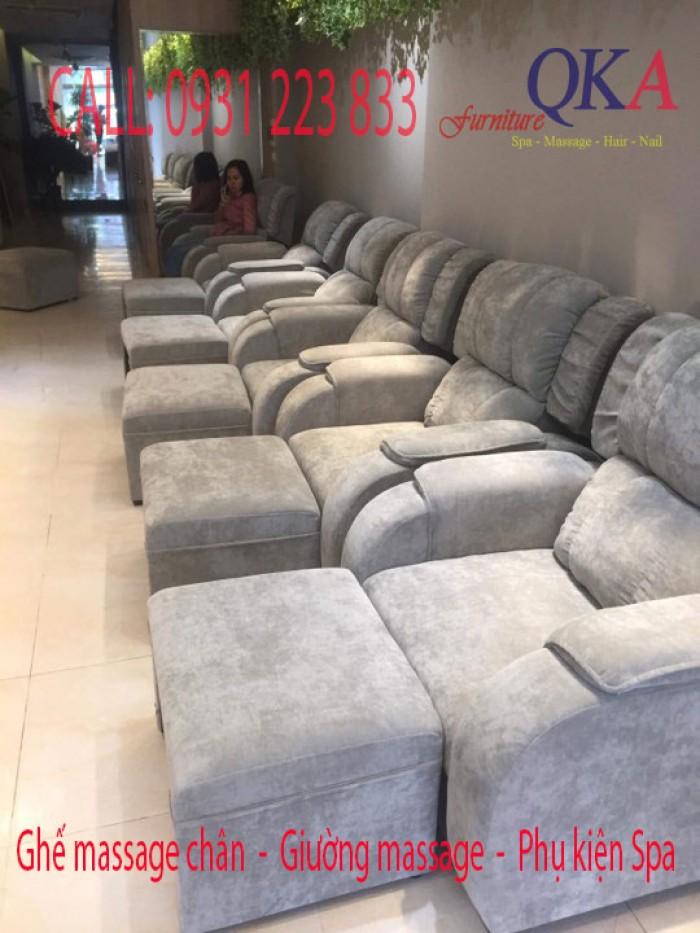 Có hơn 30 màu lựa chọn cho ghế massage foot4