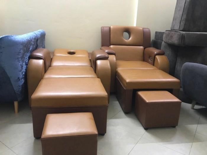 Ghế massage foot bọc da18