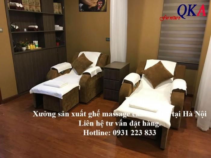 Ghế massage chân bọc vải nỉ19