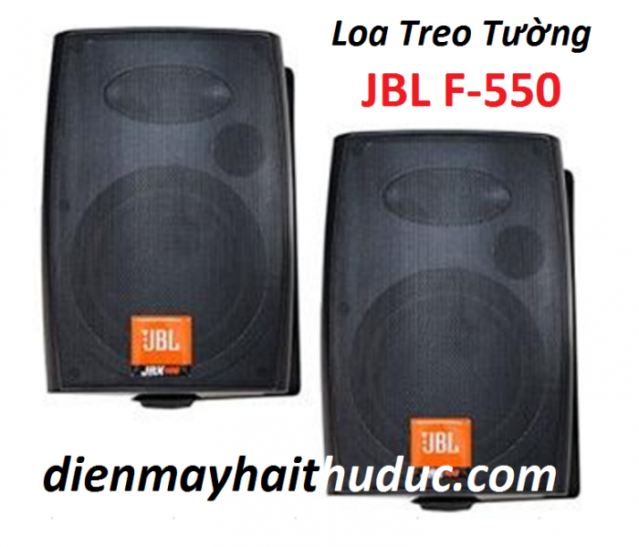 Loa treo tường JBL F-550, với kích thước mini, nhỏ gọn mẫu mã chuyên nghiệp, rất sang trọng 0