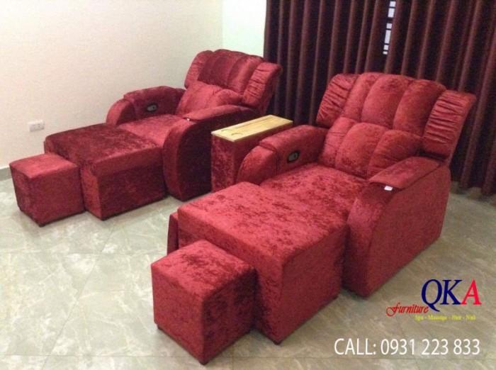 Mẫu ghế massage chân được sản xuất bởi công ty Nội thất QKA Ghế có đệm mút êm ái, mẫu ghế số 3, DÀI 190 RỘNG 90 Bạn có thể thay đổi kích thước màu sắc như mình mong muốn Liên hệ: 0931 223 833 Địa chỉ: số 14 ngõ 31 Doãn Kế Thiện, Mai Dịch, Cầu Giấy, Hà Nội website: https://vedepspa.com/ 0
