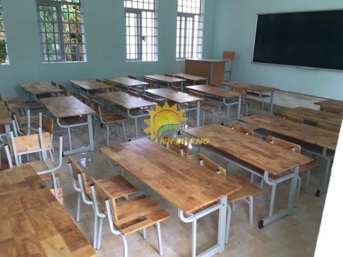Cung cấp bàn ghế gỗ mầm non giá rẻ, uy tín, chất lượng nhất1