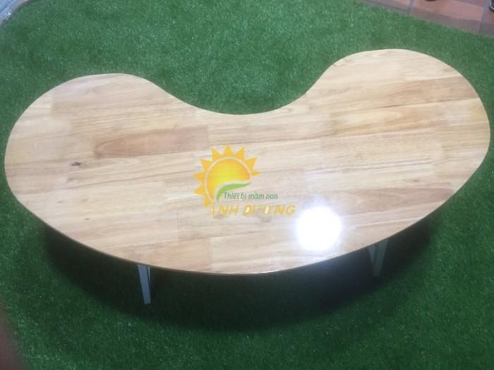 Cung cấp bàn ghế gỗ mầm non giá rẻ, uy tín, chất lượng nhất4