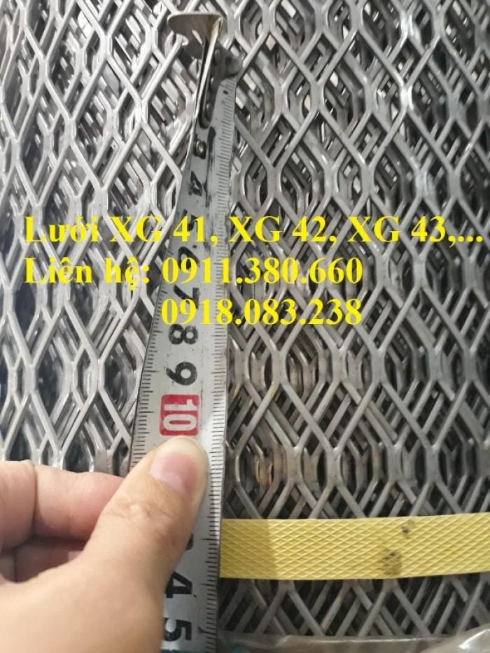 Lưới dập giãn, lưới XG 41, XG 42, XG 43,....4