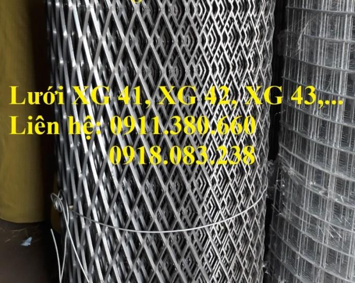Lưới dập giãn, lưới XG 41, XG 42, XG 43,....2