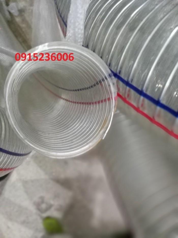Ống nhựa mềm lõi thép phi 32 nhựa chính phẩm, không mùi3