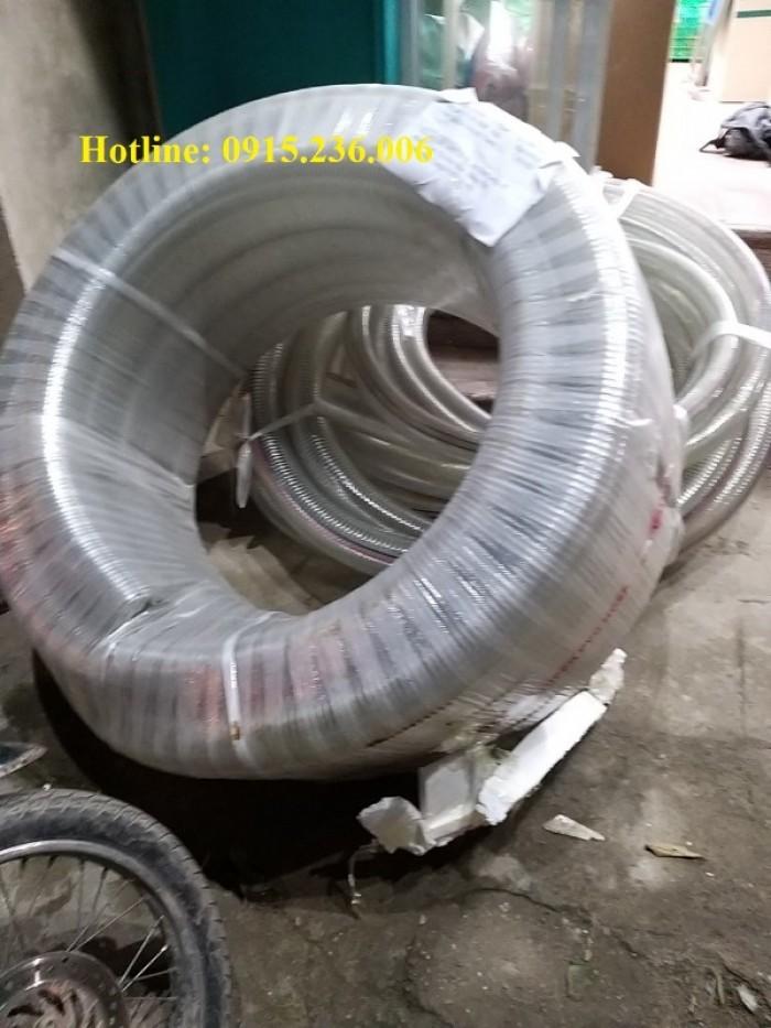 Ống nhựa mềm lõi thép phi 32 nhựa chính phẩm, không mùi1
