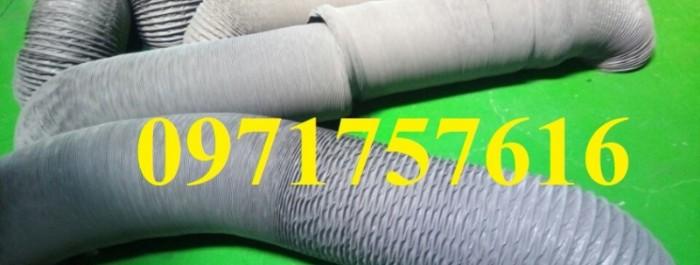 Ống gió mềm vải thông khí tarpaulin giá tốt1