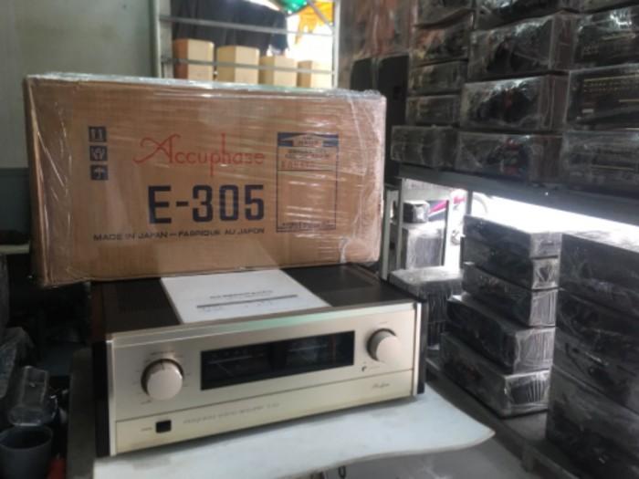 Bán chuyên ampli Accuphase E305 hàng bải tuyển chọn từ nhật3
