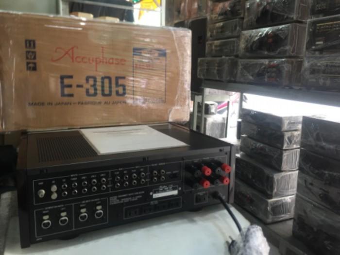Bán chuyên ampli Accuphase E305 hàng bải tuyển chọn từ nhật5