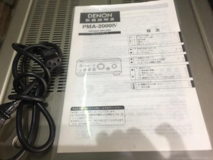 Bán chuyên Ampli denon PMA 2000IV( Japan ) hàng bải tuyển cển8