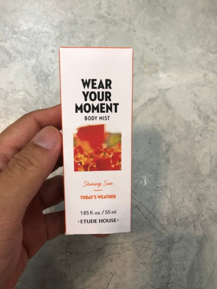 Nước hoa xịt cơ thể Wear Your Moment Body Mist xách tay Hàn Quốc3
