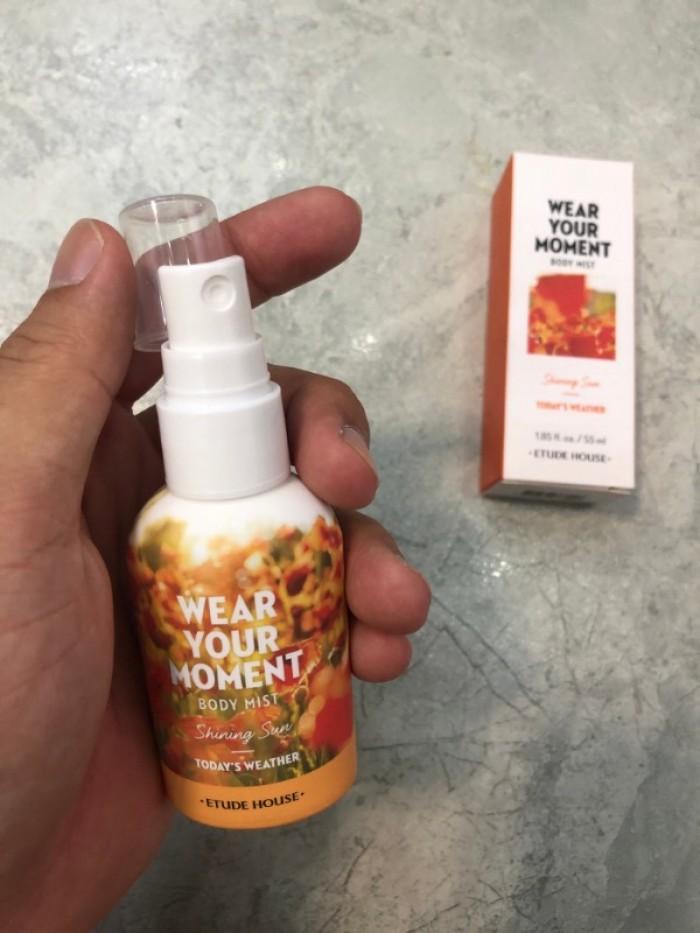 Nước hoa xịt cơ thể Wear Your Moment Body Mist xách tay Hàn Quốc0