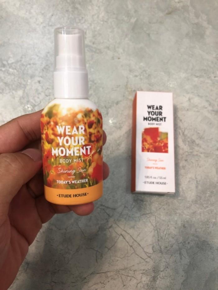 Nước hoa xịt cơ thể Wear Your Moment Body Mist xách tay Hàn Quốc4