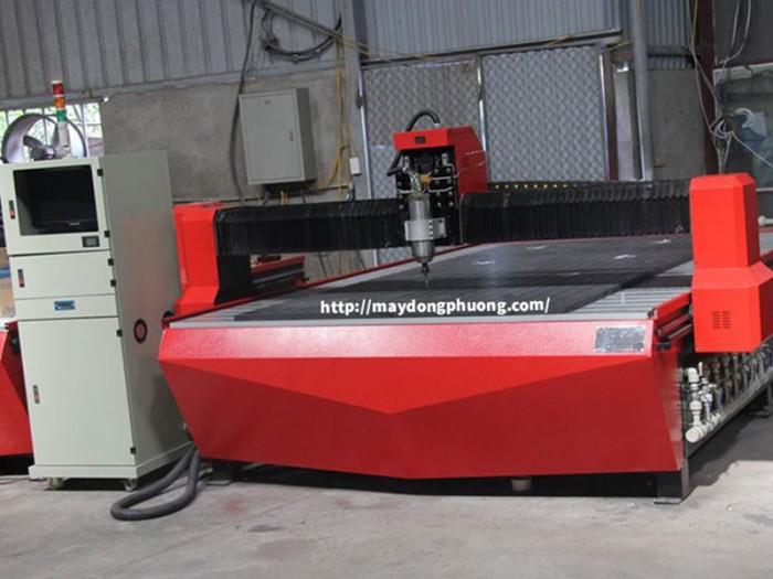 Máy cắt CNC hút chân không | Máy CNC 1325-1 | Máy cắt gỗ CNC0