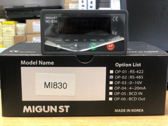 Đồng hồ cân MI830, xuất xứ: Migun – Hàn Quốc0