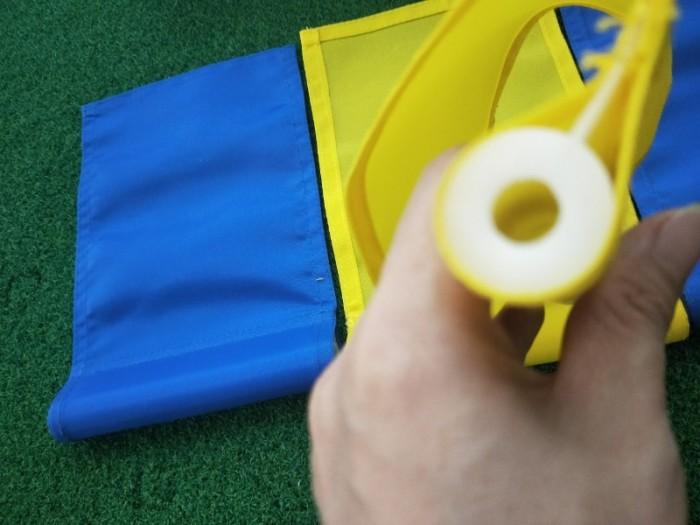 Cờ golf sân tập có trục nhựa1