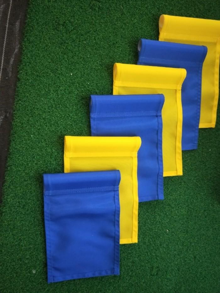 Cờ golf sân tập có trục nhựa10