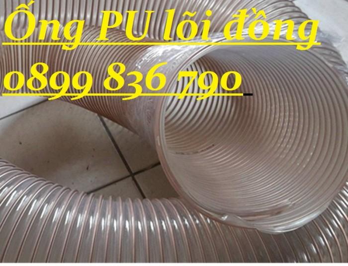 Ống hút bụi Pu lõi thép mạ đồng D2001