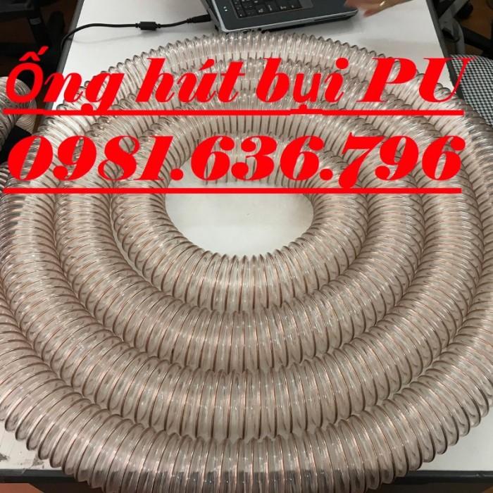Ống hút bụi Pu lõi thép mạ đồng D20017