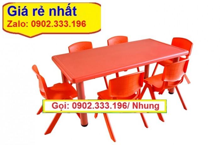 Bàn ghế nhựa mầm non, bàn nhựa đúc mầm non, bàn ghế nhựa đúc giá rẻ