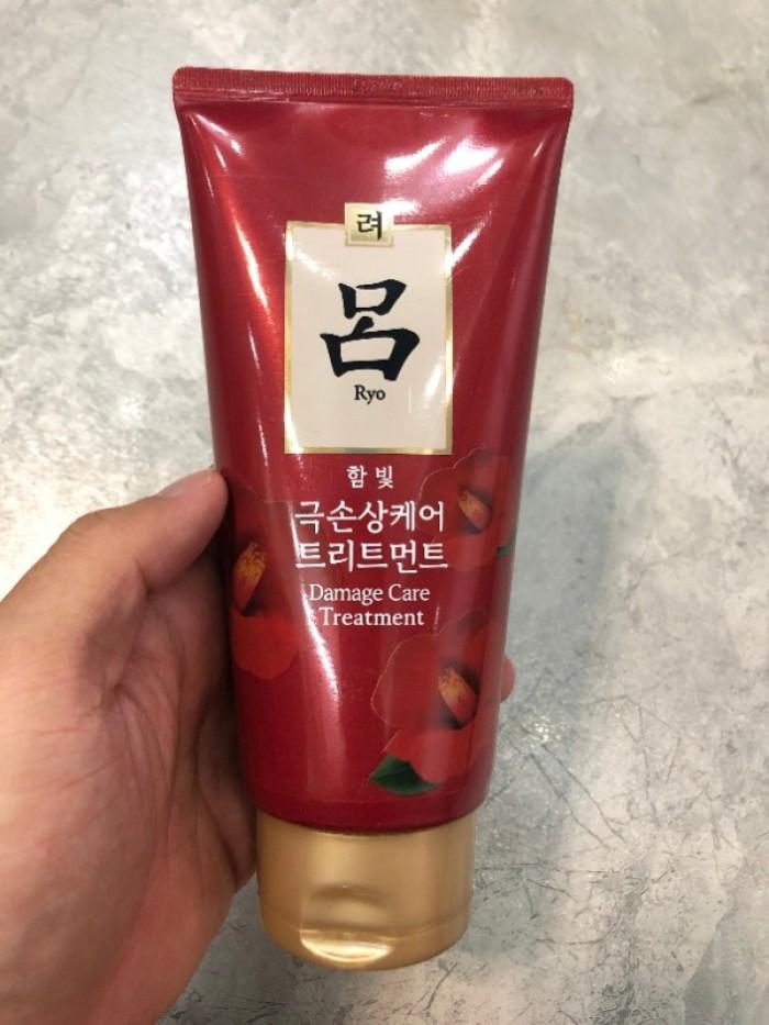 Ủ tóc Ryo Damage Care Treatment xách tay Hàn Quốc0